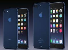 iPhone 7 albastru concept
