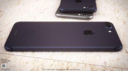 iPhone 7 albastru concept 3
