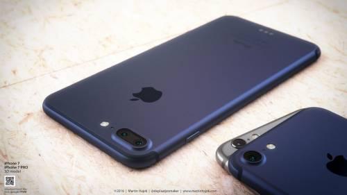 iPhone 7 albastru concept 4