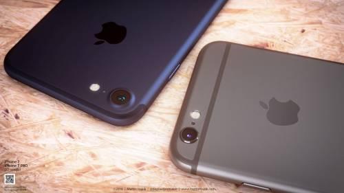iPhone 7 albastru concept 5