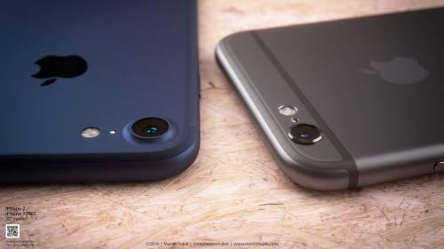 iPhone 7 albastru concept 6