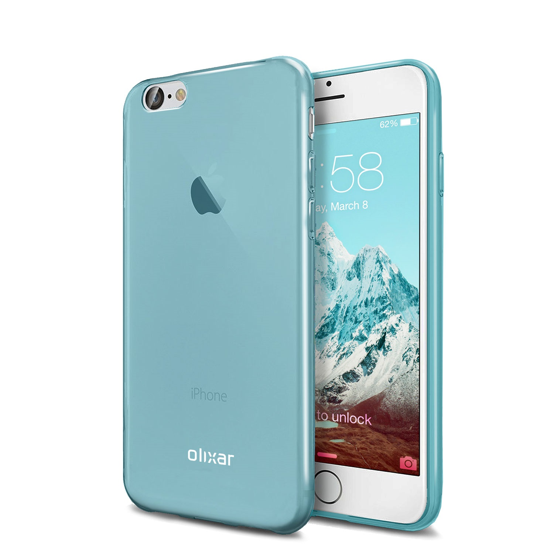 iPhone 7 carcasa bleu