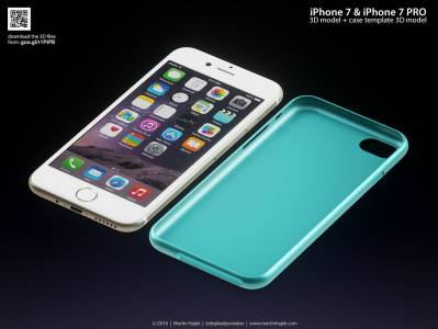iPhone 7 concept colorat 3