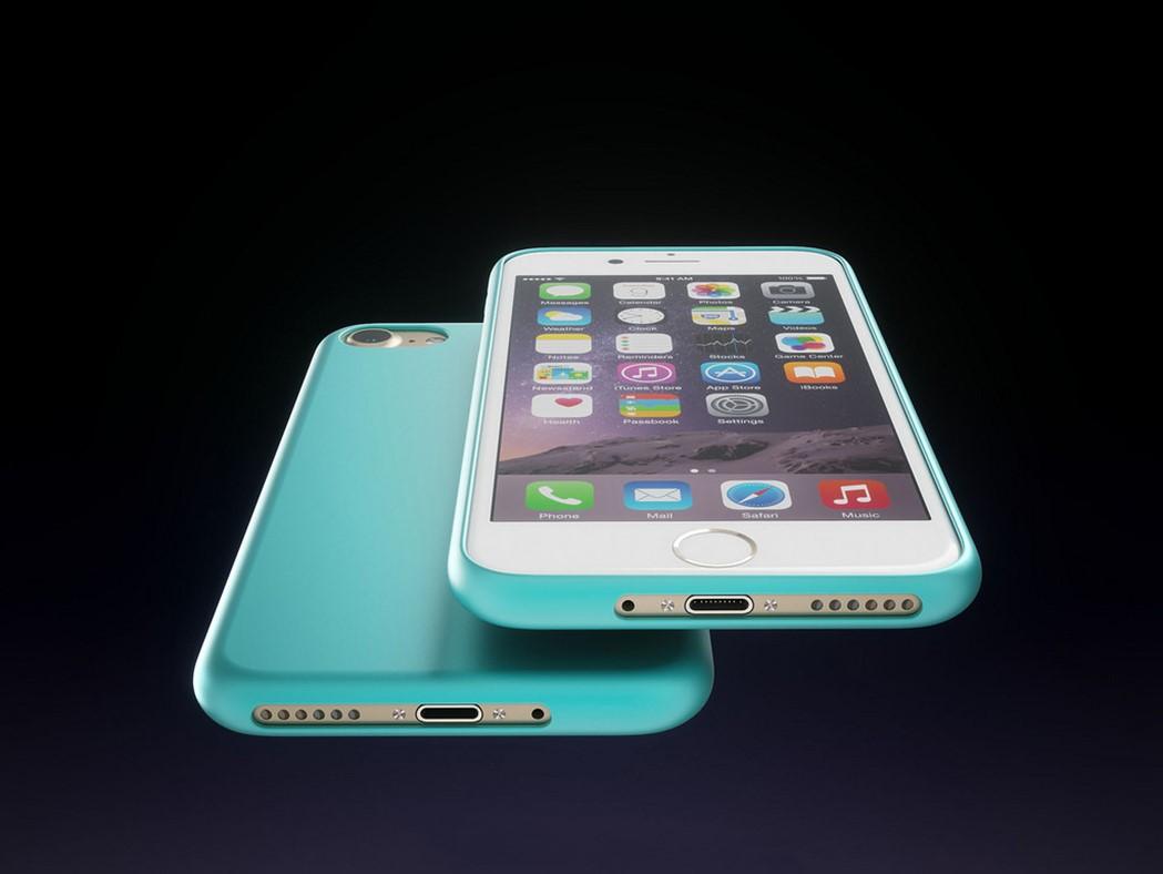iPhone 7 concept colorat
