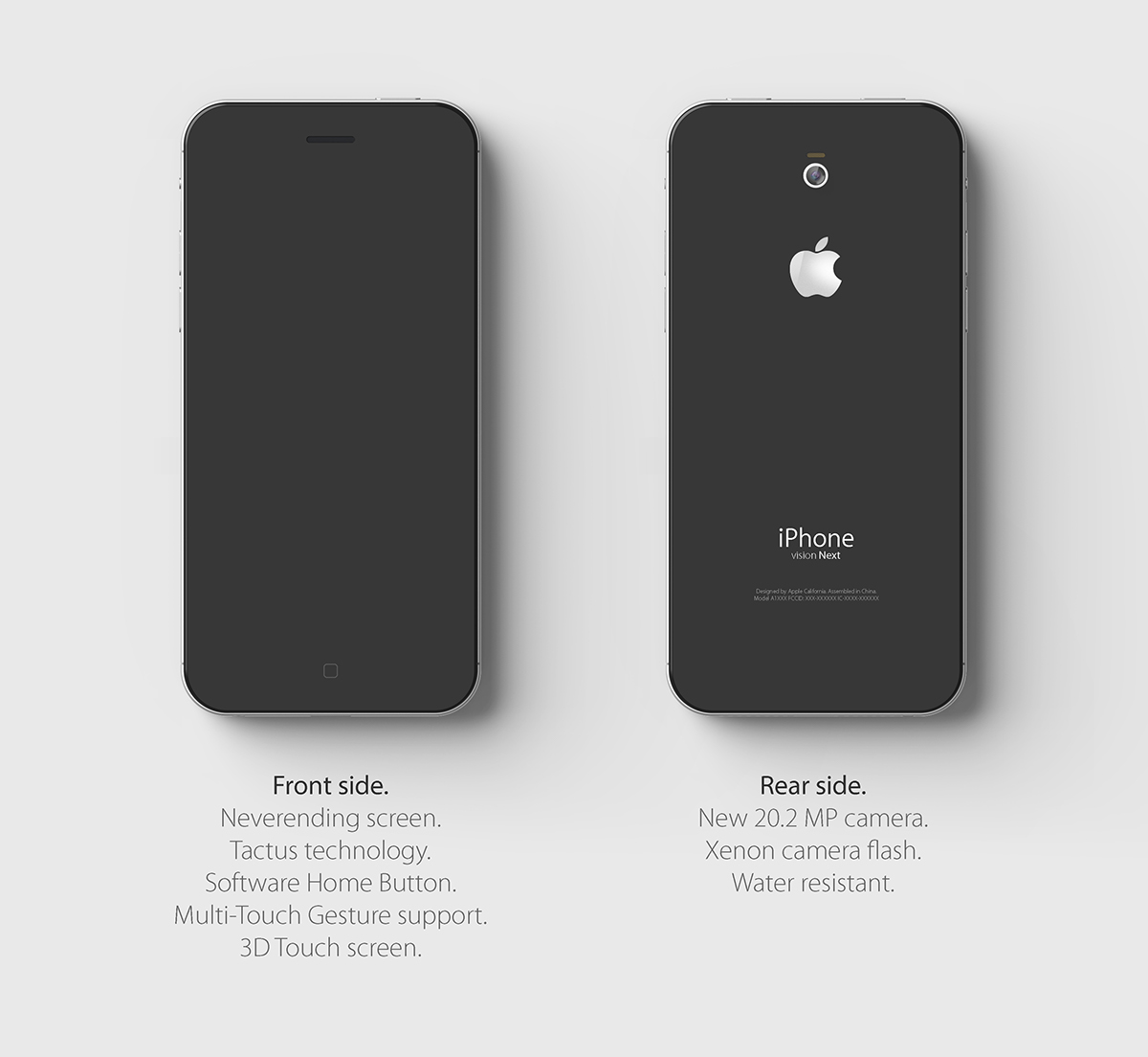 iPhone 7S concept tare