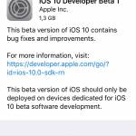 instala iOS 10 beta 1 iPhone iPad