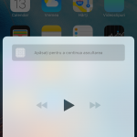 interfata Control Center iOS 10