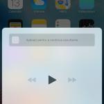 interfata Control Center iOS 10