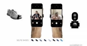 selfie feet pentru selfie