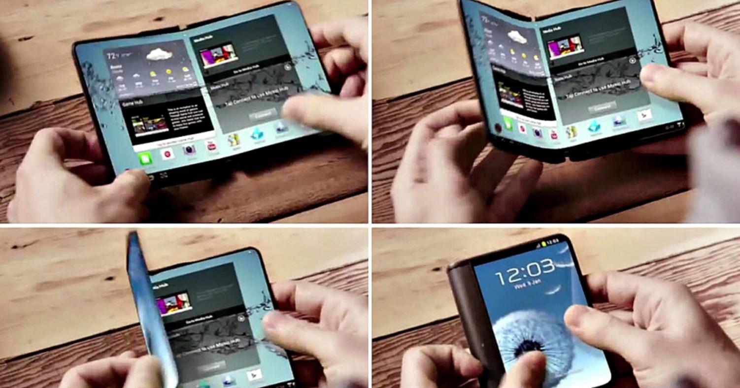 smartphone flexibil samsung