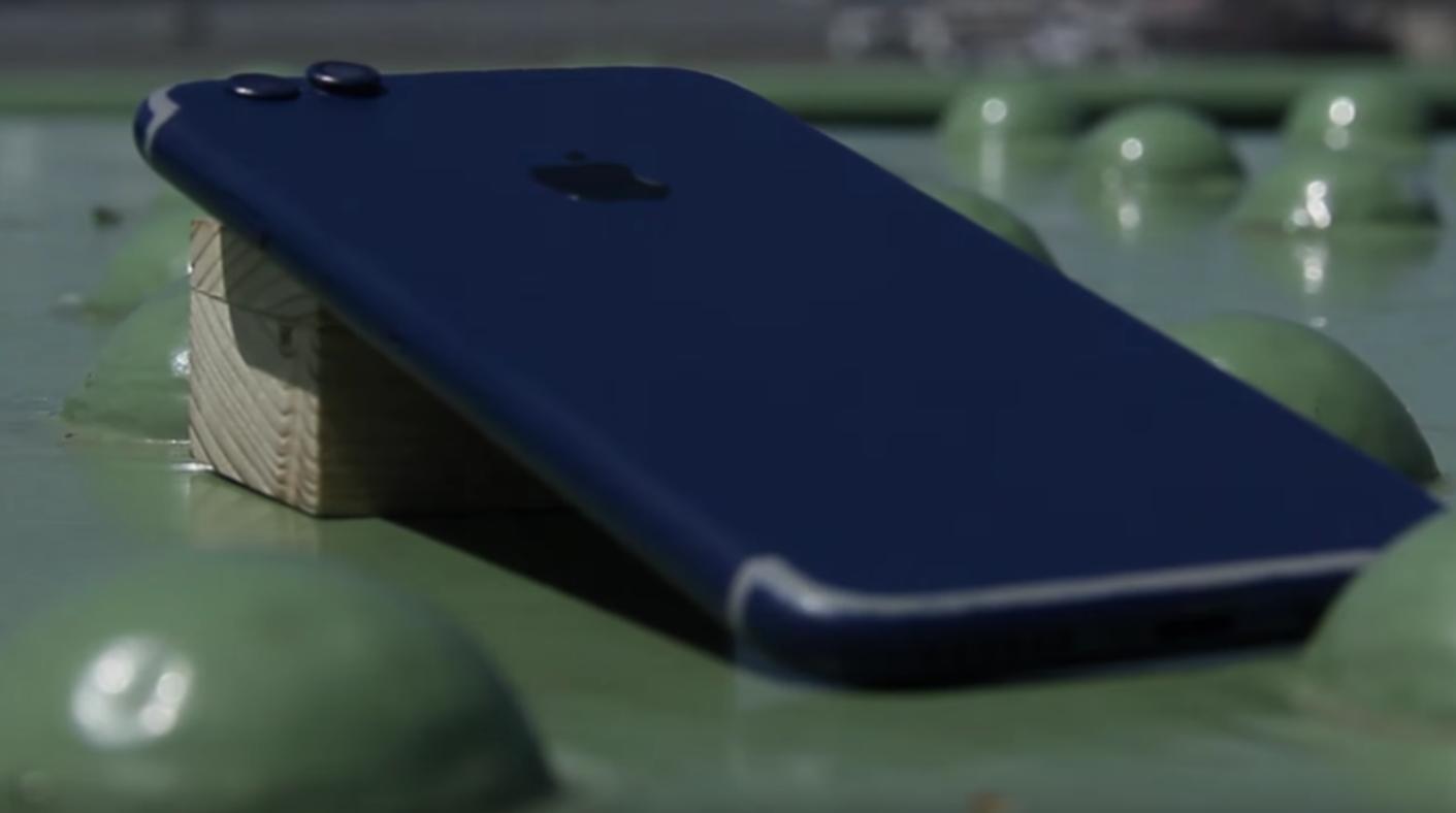 tutorial iPhone 7 albastru