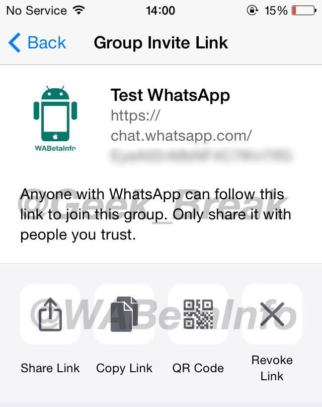 whatsapp messenger invitatie QR