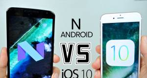 android 7 vs ios 10
