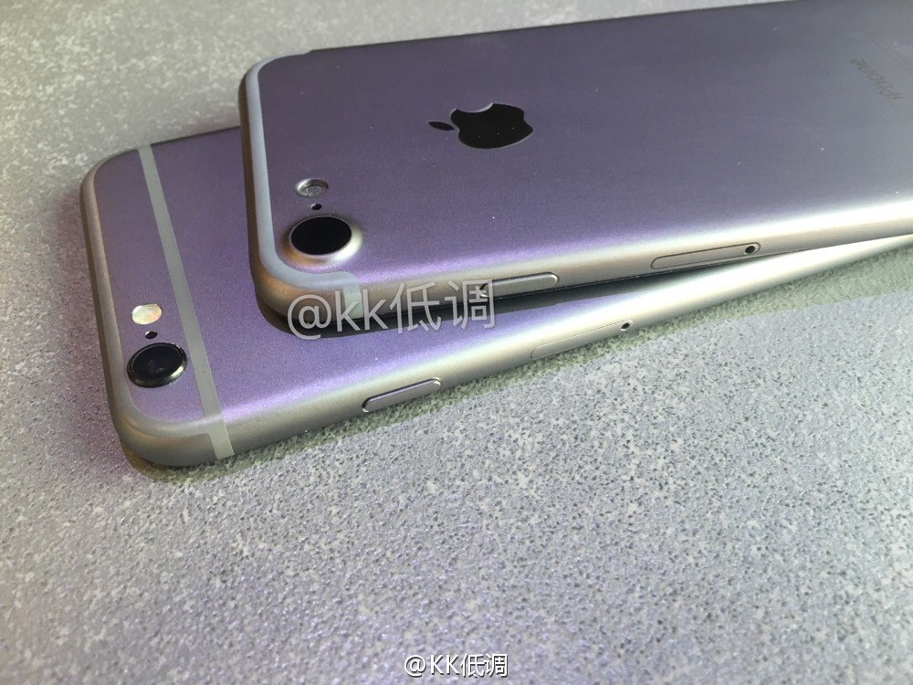 carcasa iPhone 7 comparatie iPhone 6S 1