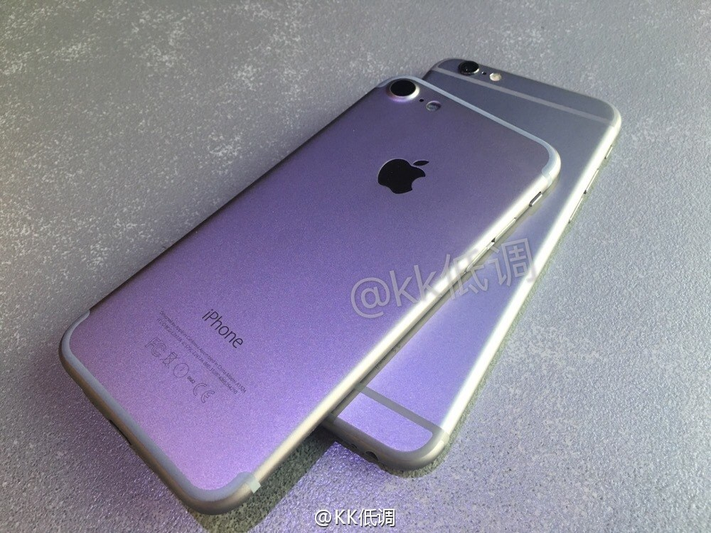 carcasa iPhone 7 comparatie iPhone 6S 2