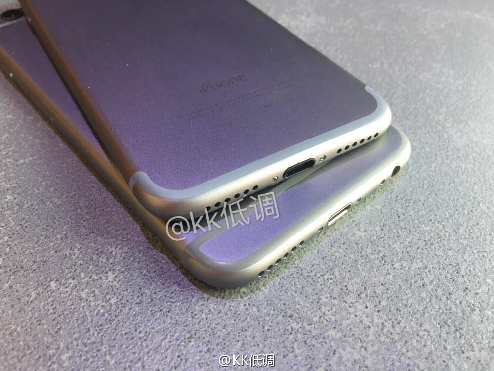 carcasa iPhone 7 comparatie iPhone 6S 4