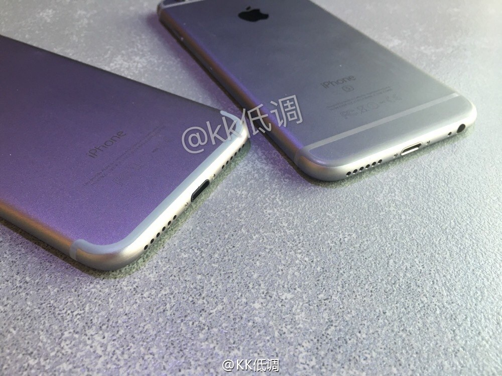 carcasa iPhone 7 comparatie iPhone 6S 6