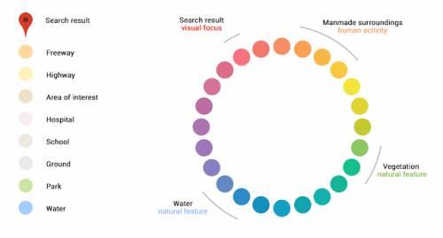 google maps culori