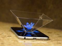 holograma iphone