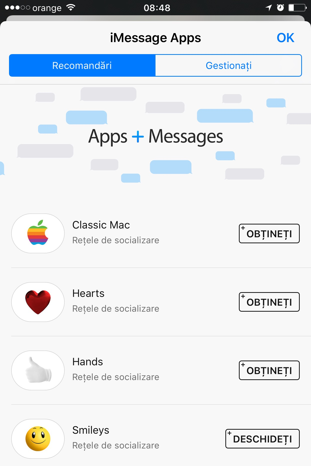 iOS 10 beta 2 iMessage App Store 1