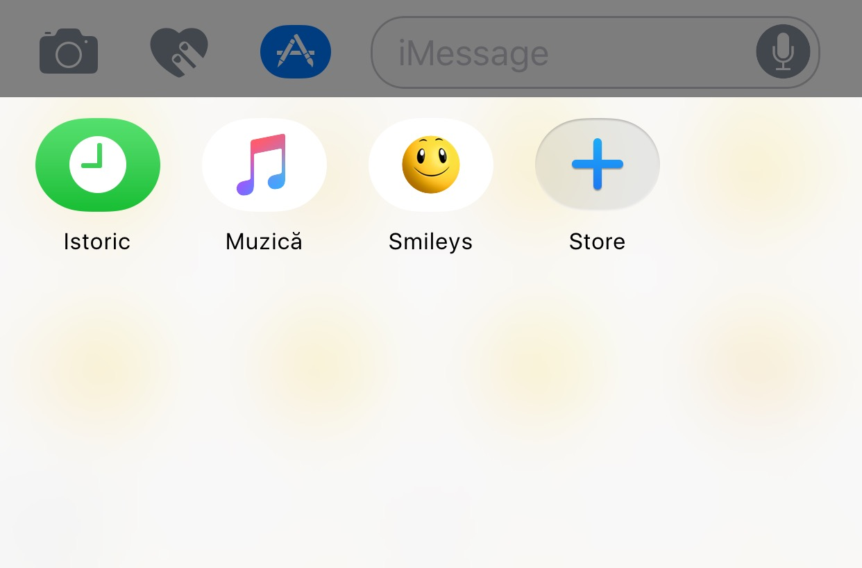 iOS 10 beta 2 iMessage App Store