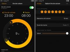 iOS 10 ceas sunete