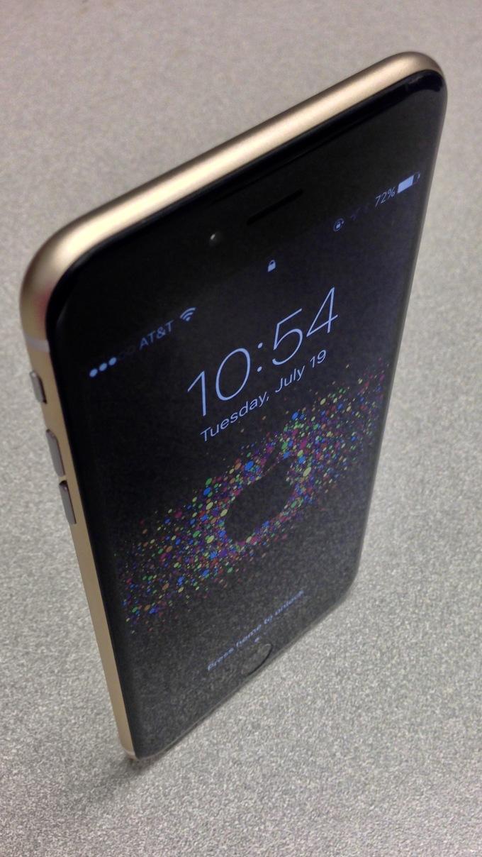 iPhone 6 negru auriu 2