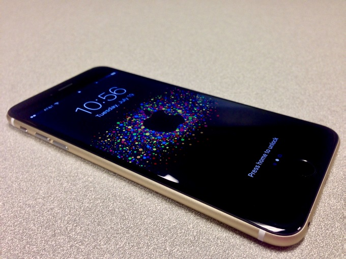 iPhone 6 negru auriu 3