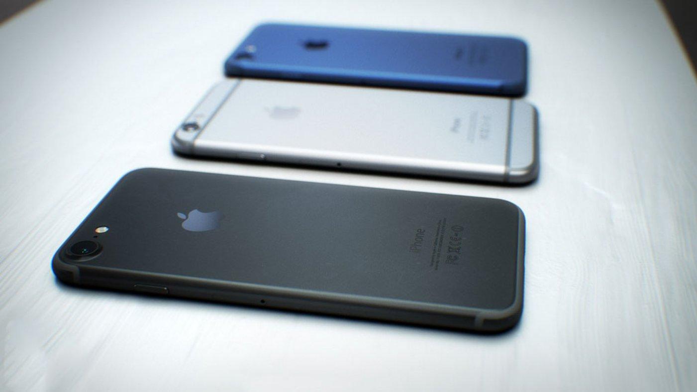 iPhone 7 negru spatial buton 3D touch feat