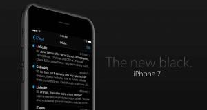 iphone 7 negru spatial dark mode feat