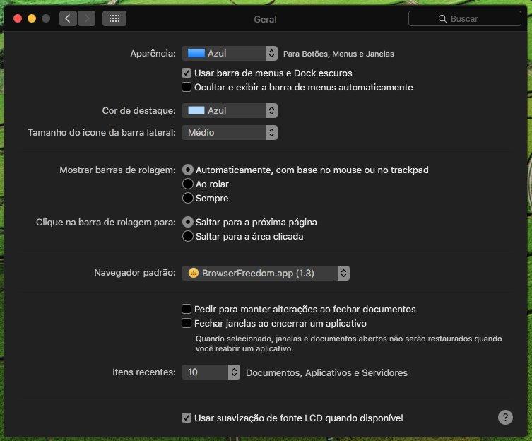 macOS Sierra dark mode 1
