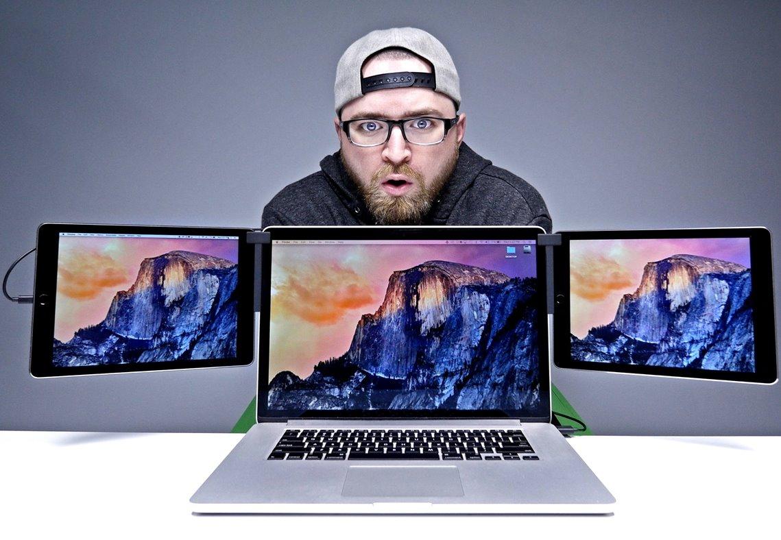 macbook 3 ecrane