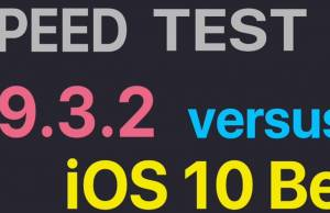 performante iOS 9.3.2 vs iOS 10 beta 3