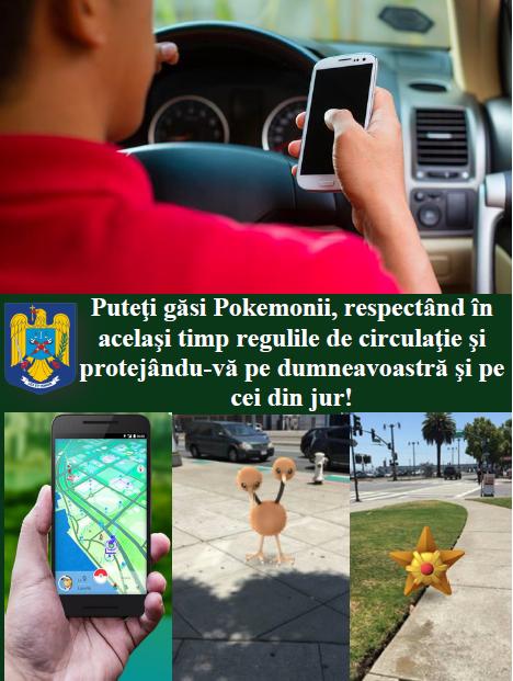 politia romana pokemon go