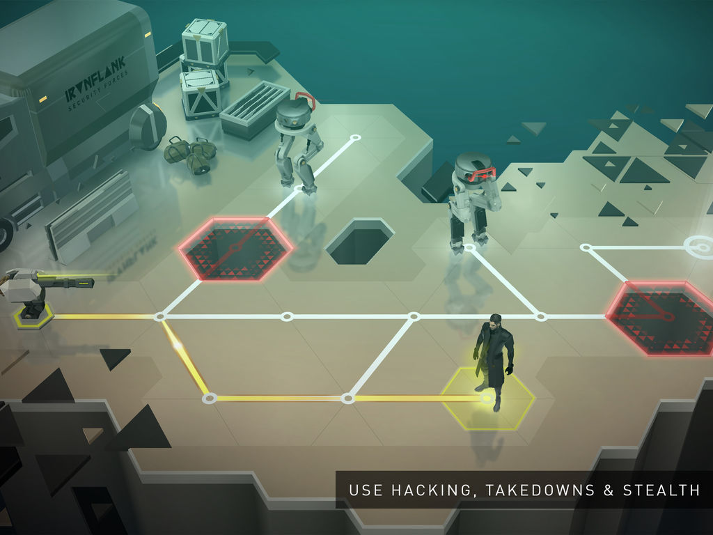 Deus Ex GO aplicatia saptamanii iphone si ipad