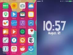Fresh tema iOS iPhone