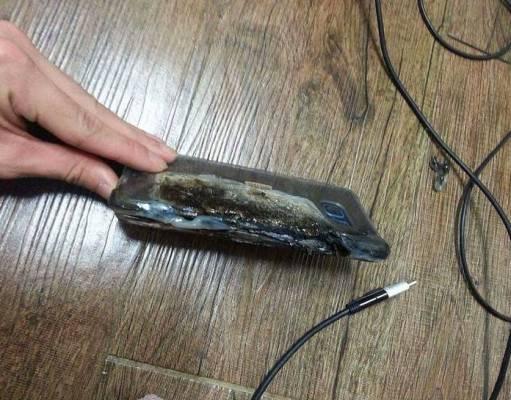 Galaxy Note 7 explodat 2