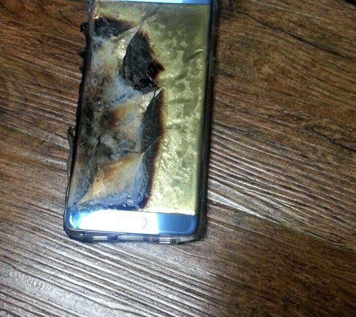 Galaxy Note 7 explodat 3