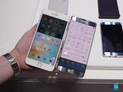 Galaxy Note7 vs iPhone 6S Plus 2