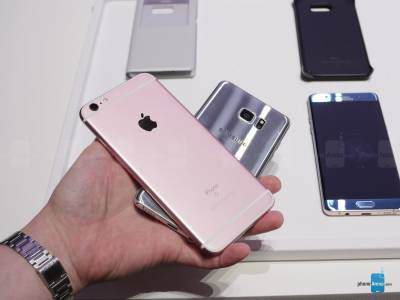 Galaxy Note7 vs iPhone 6S Plus 4