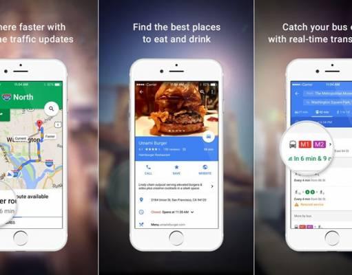 Google Maps actualizare iphone
