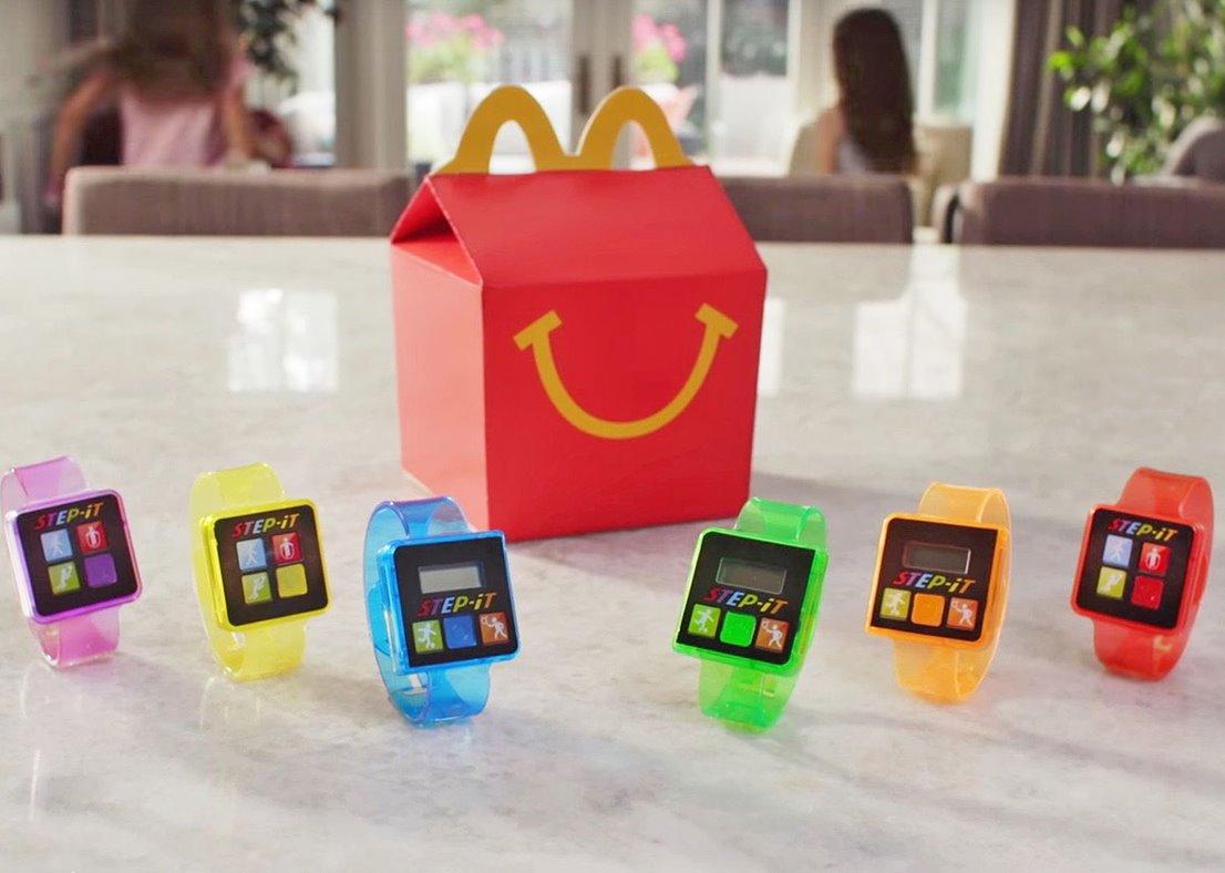 McDonald's bratara fitness