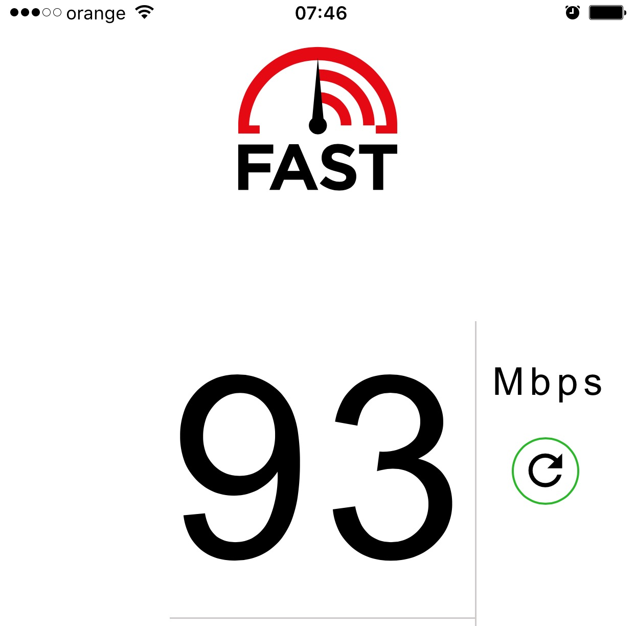 Netflix FAST test viteza