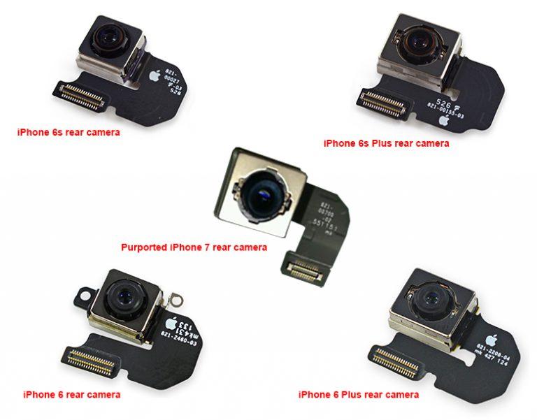 camera isight iPhone 7