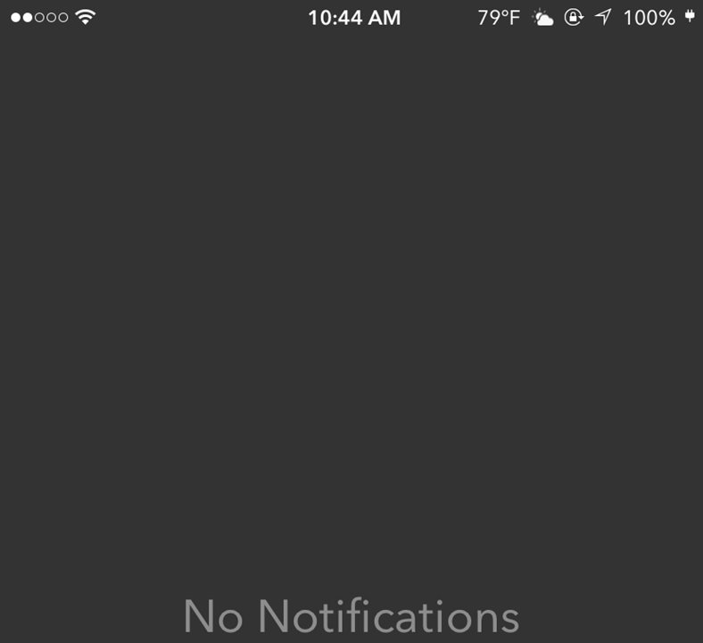 centru notificari ios 9 iphone