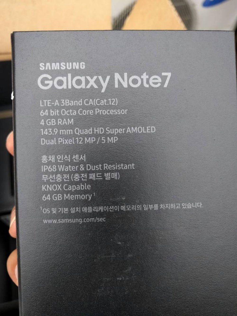 cutie Samsung Galaxy Note7 1