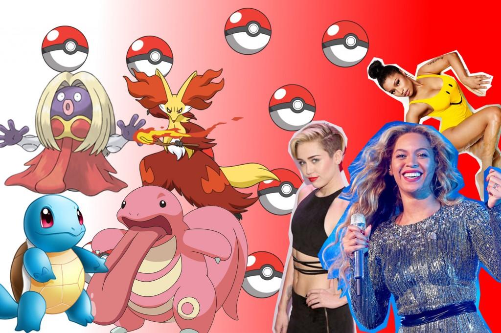 daca celebritatile ar fi pokemoni