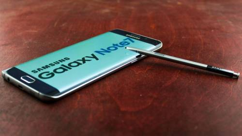 ecran Samsung Galaxy Note7 senzor