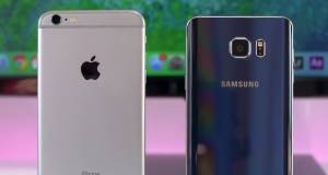 galaxy note7 vs iphone 6s plus comparatie