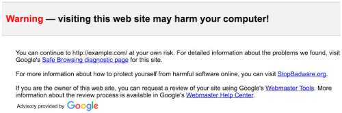 google anti spam email